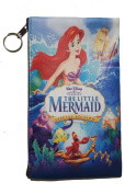 Disney's Little Mermaid Ariel Pencil Case School Pencil Case Cosmetic Makeup Bag Storage Student Stationery Zipper Wallet