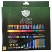 Master Art Master Series 60 Bi-Coloured Colour, 30 Pencils, 60 Colours