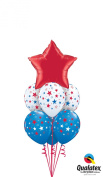 Qualatex Patriotic 8pc Balloon Pack Red White Blue
