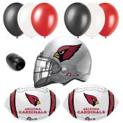 Arizona Cardinals NFL Football Helmet Balloon Super Bowl Party 10pc Pack