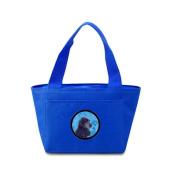 Caroline's Treasures SS4747-BU Cocker Spaniel Lunch or Doggie Bag, Large, Blue