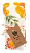 kishu baby Orange Blossom Muslin Swaddle Blanket, Multicolor, One Size