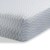 Crib Sheet for Baby / Infant Deep Fitted Soft Jersey Knit by Abstract (70cm x 130cm