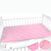 Extra Super Soft Bwinka Sponge core Washable Mattress Topper / Pad, Crib Size 120cm x 70cm