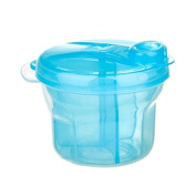 Babykings Powder Formula Dispenser and Snack Cup Dispenser Portable Travel Container Bottle Storage Blue