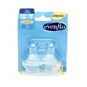 Evenflo Classic Fast Flow Nipples 1 pack