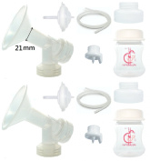 One-for-All Pump Parts for Spectra S2 Spectra S1 9 Plus Breastpump Replace Spectra Flange Spectra Backflow Protector. Wide Mouth Bottle Breastshield Valve Tubing Backflow Protector Silicone Diaphragm