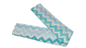 Jojo's Boutique Blue Chevron Nappy Strap