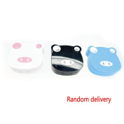 Meidus Mini Cartoon Pig Shape Contact lenses Case Lenses Care Box Crush