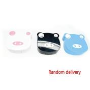 Meidus Mini Cartoon Pig Shape Contact lenses Case Lenses Care Box Crush