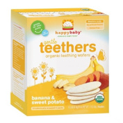 Happy Baby Gentle Teethers Organic Teething Wafers, Banana & Sweet Potato 12 ea