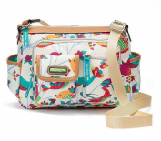 Lily Bloom Women's Libby Hobo Crossbody Bag, Tweety Twig