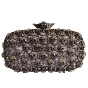 Digabi Skull pattern Women Crystal Evening Clutch Bags
