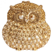 Digabi Owl Shape Women Crystal Evening Clutch Bags
