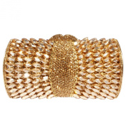 Digabi Bling Cylindrical Shape Women Crystal Evening Clutch Bags