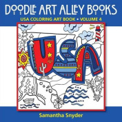 USA Coloring Art Book