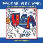 USA Coloring Art Book