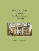 Albemarle County, Virginia Deed Book Abstracts 1790-1791