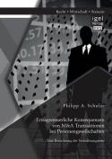 Ertragssteuerliche Konsequenzen Von M&A Transaktionen Bei Personengesellschaften. Eine Betrachtung Der Verausserungsseite [GER]