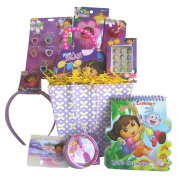 Dora the Explorer Easter Gift Basket, Perfect for Girls 3-8 Years Old