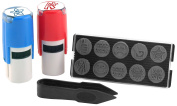 Stamp-Ever 10-In-1 Teachers Stamp Kit, Stamp Impression Size