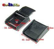 "5pcs 1-1/2"" (39mm) Webbing Cam Buckles Plastic Black Toggle Clip Backpack Straps FLC011-A1"