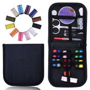 Jmkcoz Professional Portable Travel Sewing Kit Basic Sewing Tools Accessories Sewing Set