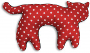 Leschi Travel pillow (for car and plane journeys) | 36797 | Feline the cat | Colour