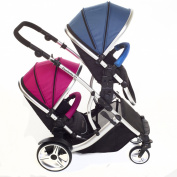 Kids Kargo Duellette 21 BS Travel System Pram Double Pushchair