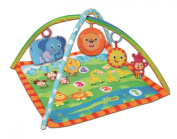 Bontempi Light & Sound Baby Jungle Activity Play Mat - Square