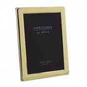 Brass Plated Photo Frame 4 x 6 New Boxed