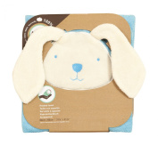 Tots by Smart Rike 180 - Hooded Towel, Joy Funny Bunny 80 x 80 cm - Blue