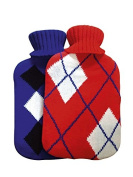 SupaHome Hot Water Bottle with Knitted Cover