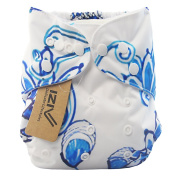 iZiv(TM) Newborn Organic Infant Waterproof/Adjustable/Reusable/Washable Pocket Cloth Nappy Fit Babies 0-3 Years