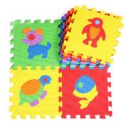 10 Pieces Of Puzzle/Environmental Foam Mats Kids & Baby Foam Play Mats-Animal