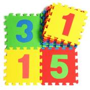 10 Pieces Of Puzzle/Environmental Foam Mats Kids & Baby Foam Play Mats