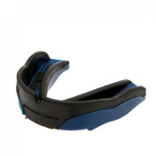 The Shock Doctor Sd 1.5 Mouthguard Adults Black Blue Sd 1.5 Mouthguard By Shock Doctor Protects