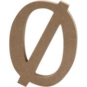 Letter, H: 13 cm, MDF, , 1 pc