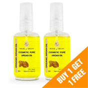 . Cosmetic Oil Pure Moroccan Argan Oil | 100% Natural and EcoCert Certified | Highly Rich with Vitamin E | For Face, Neck and Body | Highest Quality, Moroccan Oil