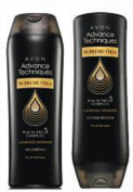 Avon Advance Techniques Supreme Oils Shampoo and Conditioner by Avon