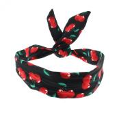 Zac's Alter Ego® Rockabilly Cherry Print Wire Headband