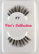 Vivi's Collection F7 Finest Eyelashes Black False Fake Eye Lashes