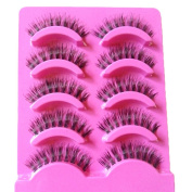 BESTIM INCUK 5 Pairs Makeup Beauty False Eyelashes Eye Lashes Extension