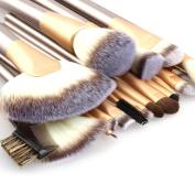 Zuri Makeup Brushes - 18pcs Makeup Brushes - Make Up Brushes Set - Make Up Brush Set - Professional Make Up Brushes - Makeup Brush Set - Professional Makeup Brush Set