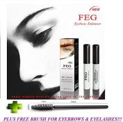 FEG Eyebrow Enhancer Growth Liquid/Serum. 100% Original with Anti-Fake sticker!!! + FREE BRUSH FOR EYELASHS AND EYEBROWS!!!