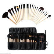 Ouneed Pro Cosmetic 15 Colour Concealer Palette + Sponge Puff + 24 PCS Cosmetic makeup brushes