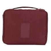 Nylon Travel Cosmetics Makeup Toiletry Bag Holder Beauty Zipper Wash Bag Organiser Case