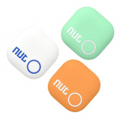 INHDBOX Smart Tag Nut 2 Bluetooth Anti-lost Tracker Tracking Wallet Key Tracer Finder Alarm Patch GPS Locator Finder for iOS / iPhone / iPod / iPad / Android