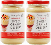 (2 Pack) - Clearspring - Sweet Grains Brown Rice | 380g | 2 PACK BUNDLE