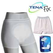 5-Pack Extra Small Tena Washable Fix Pants - Holds incontinence pads in place!